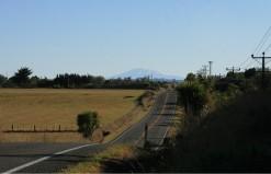 Ruapehu taken from Pukepapa Road, near Marton
