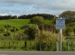 Bonny Glen, near the landfill