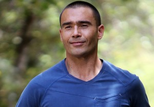 Police officer Anton Kuraia is a cancer patient who is now thriving after treatment and is preparing for an 809 km walk. 07 November 2014 Photograph by John Stone. NAG 08Nov14 -