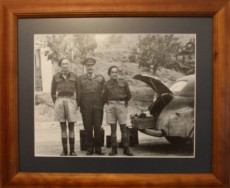 General Freyberg, his batman laurie Keucke and driver (my father) Jim Vernon