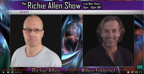 Pilot Willem Felderhof Interviewed on Richie Allen Show