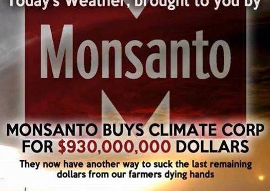 How the Rothschilds and Monsanto Control Global Climate Engineering