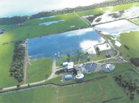WWTP and Lake