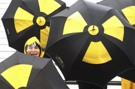 Toxic Rain umbrellas