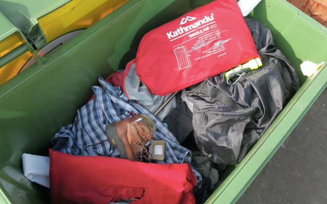 Kathmandu destroys stock, sends to landfill