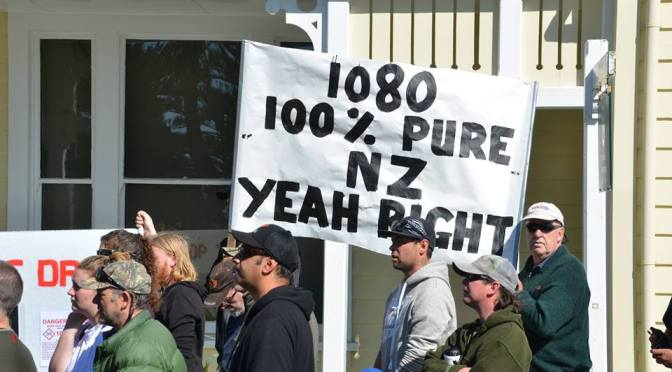 This Weekend Saw a Huge Turnout NZ Wide of People Protesting Against the Govt's Extensive Use of 1080 – Go Kiwis! (updated photos)