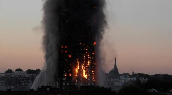 Social Cleansing & the London fire – (Dr Lisa McKenzie)