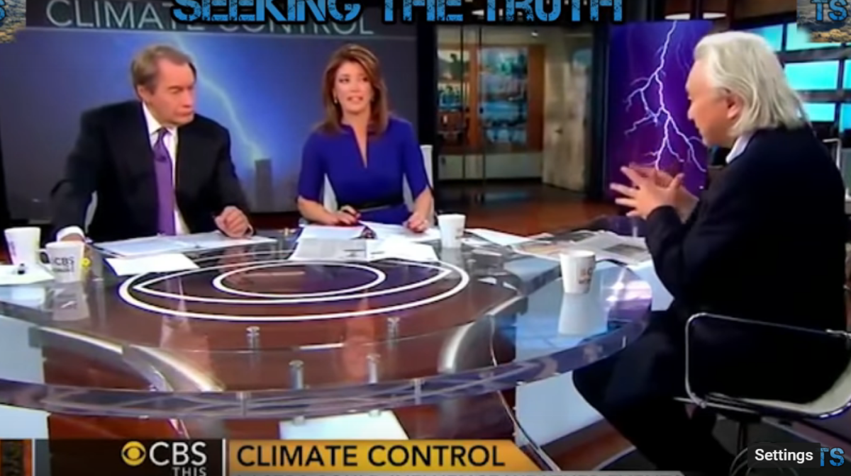 Top Scientist Tells CBS: HAARP Responsible For Recent Hurricanes - What is Cloud Seeding?