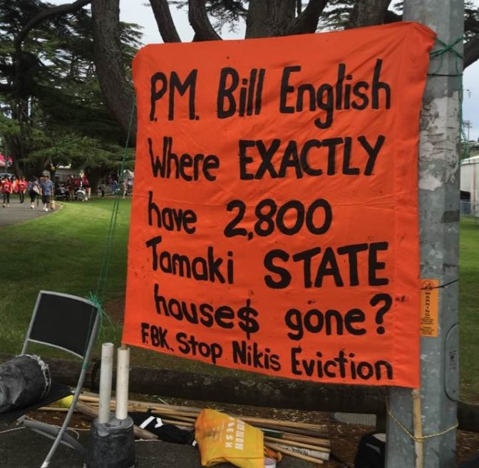 The gentrification of Tamaki under the guise of 'Regeneration' scam – the sale of your state assets to private property developers at UNDISCLOSED prices