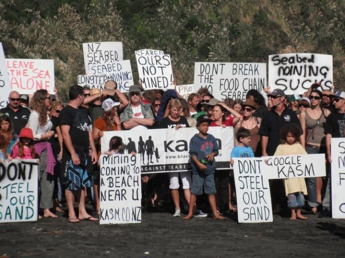 NZ Govt Seabed Mining Agenda Exposed