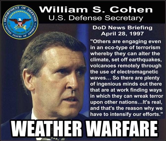 The Real Reason Weather Is Manipulated