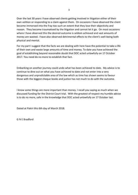 3.Graeme Sturgeons lawyers memo