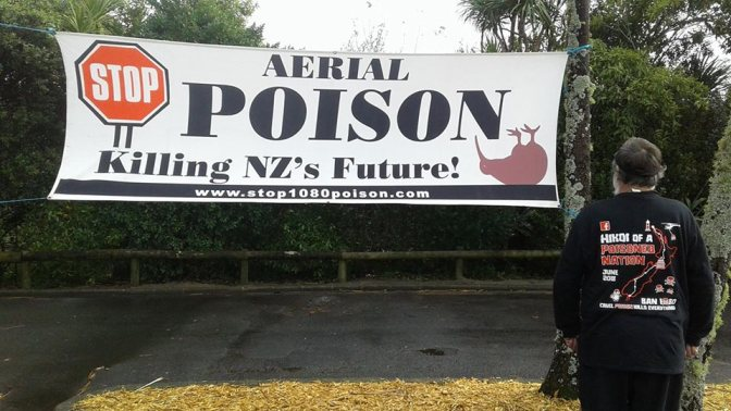 'Hikoi of a Poisoned Nation' – A peaceful hikoi protesting the widespread use of 1080 in NZ is happening now (UPDATING DAILY)
