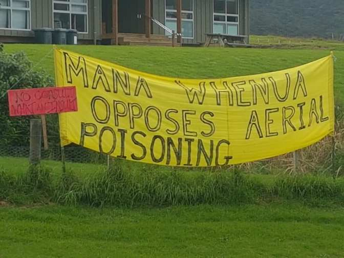 Another 1080 PROTEST: 2 groups, 600 strong are demanding Ministerial intervention to stop DoC's 1080 drop on Rakitu Island (22 June)