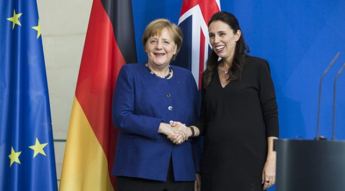 That 'World Order' again, this time Ardern & Merkel
