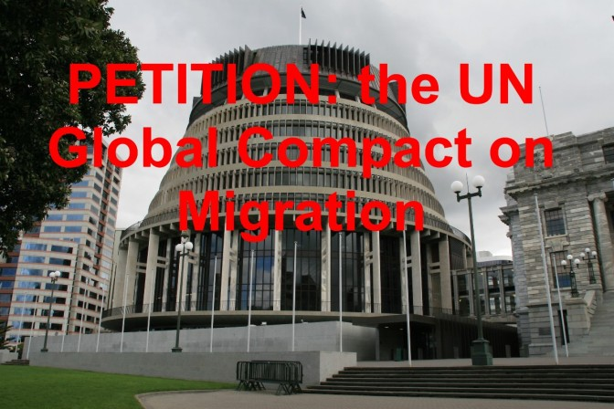 If you don't want globalist Jacinda signing any of your remaining sovereignty over to the UN Kiwis, sign this PETITION