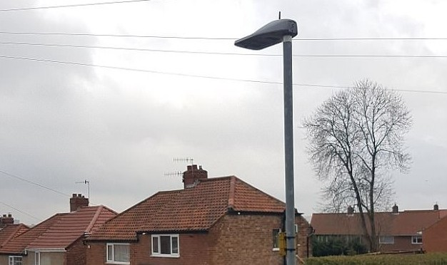 The town facing a 'humanitarian crisis caused by the radiation from state-of-the-art street lamps': Residents have endured insomnia, nose bleeds and even stillbirths, one local claims