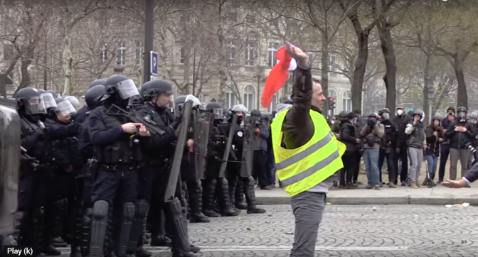 French Police are committing suicide as Yellow Vest protests continue