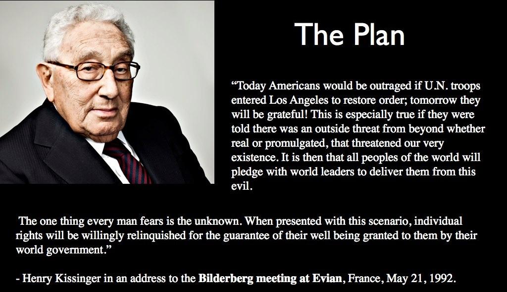 Henry Kissinger Quote - NWO (1)