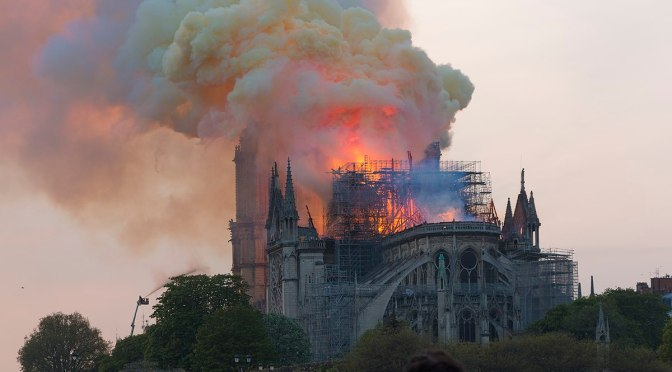 France & Germany's churches have been regularly vandalized & torched – a Paris one torched just one month ago