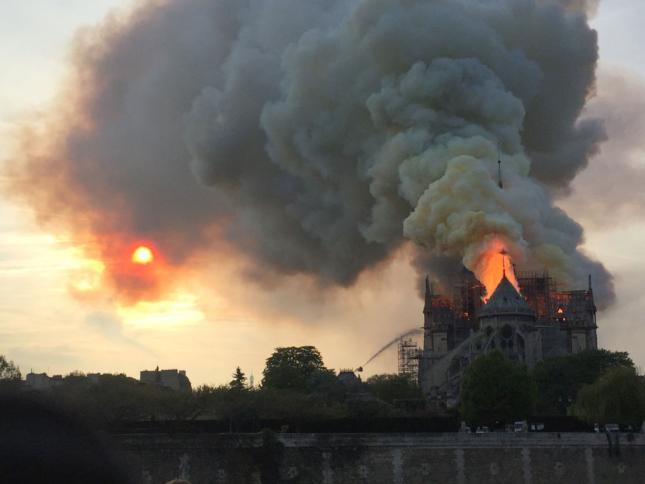 Before investigators were even cleared to enter Notre Dame's smoldering ruins the French Government had already ruled out arson?