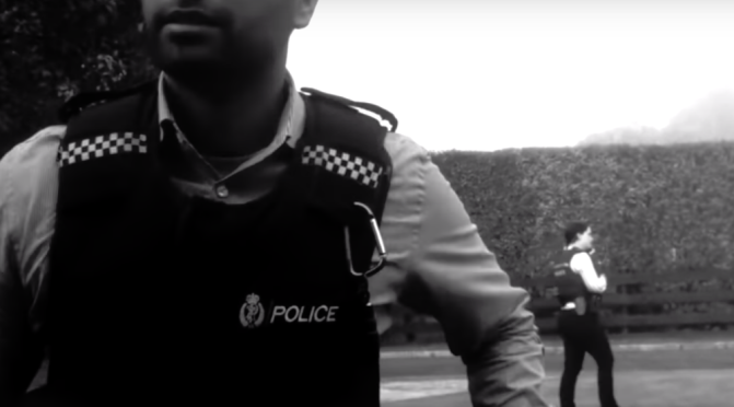 POLICE WITH GUNS, WITH NO DUE CAUSE, IS A NEW DEVELOPMENT IN NZ