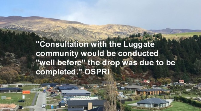 With NO community consultation & in spite of health warnings by an ag-pilot a 1080 aerial operation at Luggate is soon to go ahead