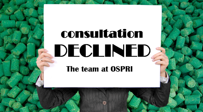 Dishonouring their promise to consult, OSPRI are thumbing their noses at Luggate residents' concerns over dust drift from an imminent aerial 1080 poison drop