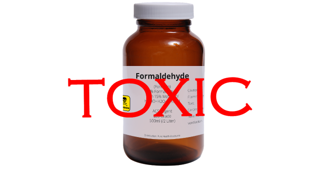 The dangers of formaldehyde exposure linked to dementia, diabetes and depression