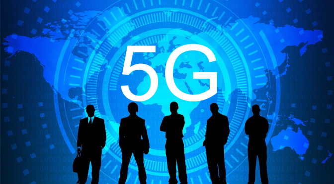 An expert in weapons systems Mark Steele speaks on 5G