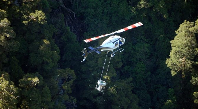The NZ government's new rules are that NO stream or waterway needs to be avoided by helicopters dropping 1080 poison