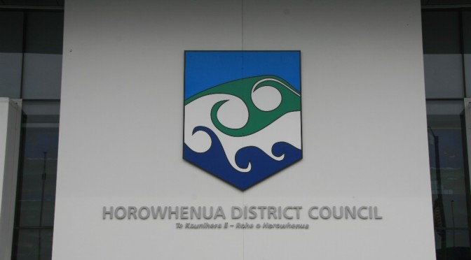 The outgoing Mayor of Horowhenua was given a surprising 'farewell' this week