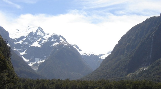 The water source for Milford Sound drinking water aerial poisoned to 100 metres above the intake