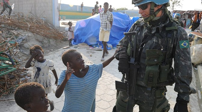 UN peacekeepers abuse Haitian women & girls