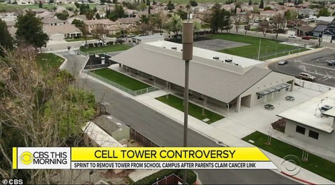 Cell phone tower shut down at elementary school after eight kids are diagnosed with cancer in 'mysterious' cluster