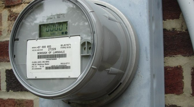The role of utility meters in mass surveillance