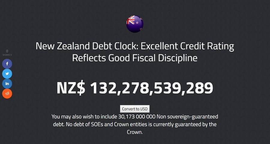 nz debt jan 2020