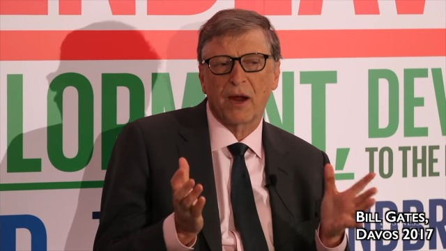 Bill Gates discusses 'intentionally caused' virus outbreaks, playing us again as he and his billionaire friends 'predict' a collapse of our food supply