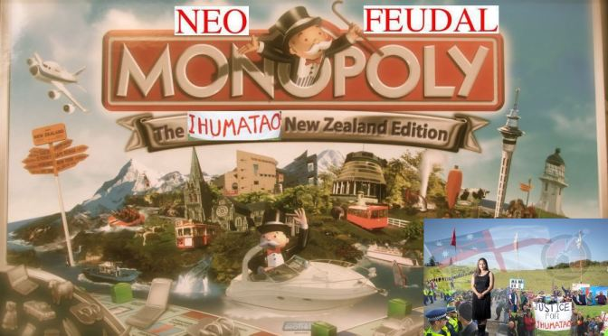 Ihumātao | How Fletchers Collected a Waiver Card in 'Neo-Feudal Monopoly – The Ihumātao New Zealand Edition'