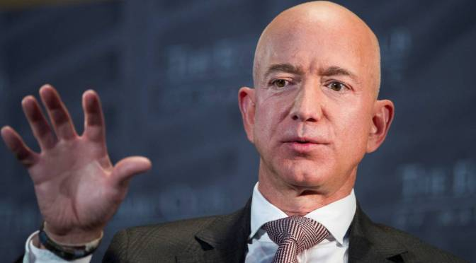 Who was Epstein's friend Jeff Bezos Before Amazon? The Post Office loses money on every Package they send out