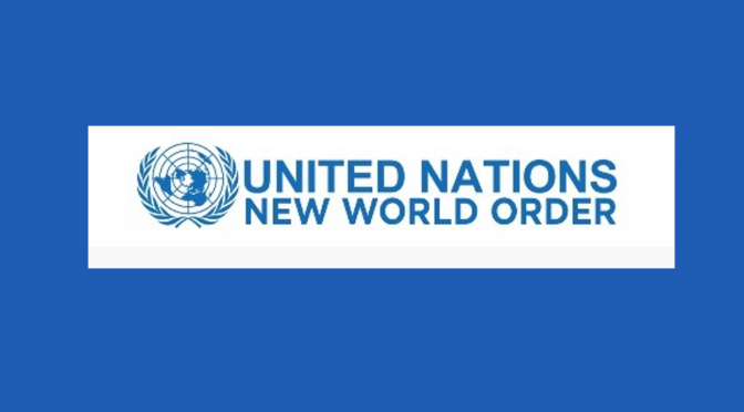 Did you know the United Nations has launched a new world order website? … seriously