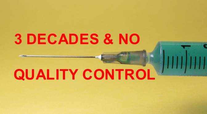 A REMINDER: a 2018 court case revealed there's been no quality control over vaccines manufactured by Big Pharma over the past three decades