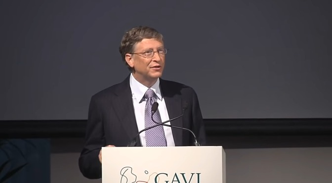 bill gates' intriguing background