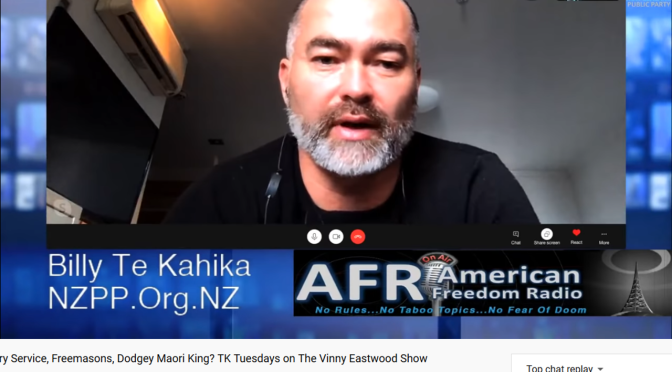 NZPP, Billy Te Kahika interview with Vinny Eastwood (20/7/20)