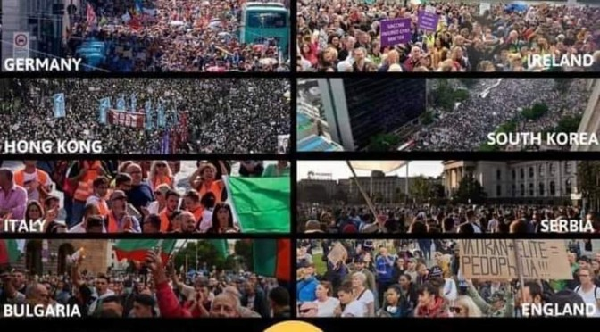 Massive Crowds Around The World Gather To Protest Covid Tyranny: Germany, UK, Poland, France, Bolivia and More Take To The Streets By The Tens of Thousands Amidst Total Media Blackout