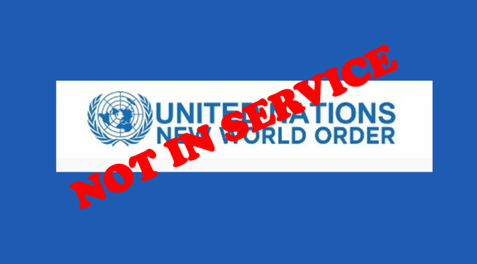Why has the UN frozen their New World Order, 'Happytalism' website?
