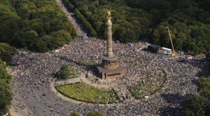 Could have been a million people in Berlin