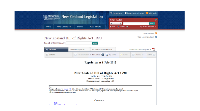 The NZ Bill of Rights  Act 1990 includes the right to refuse any medical treatment & to hold opinions without interference