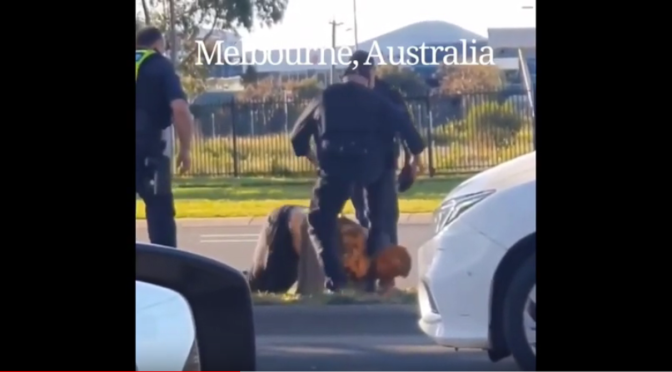 Police State Victoria footage