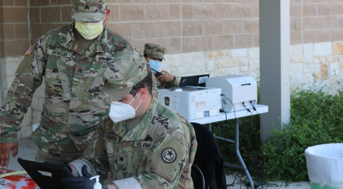 Texas Sends out National Guard to Inject Home-bound Seniors with Experimental COVID Vaccines